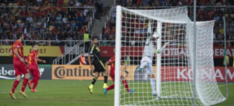 با پیروزی بر مقدونیه اسپانیا در آستانه صعود به یورو ۲۰۱۶