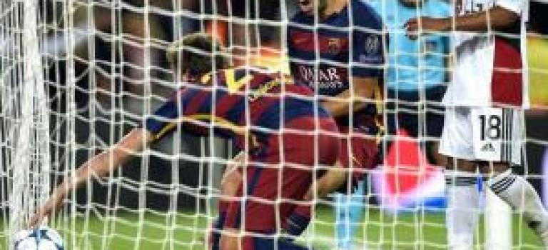پیروزی بارسلونا برابر لورکوزن در دقایق پایانی