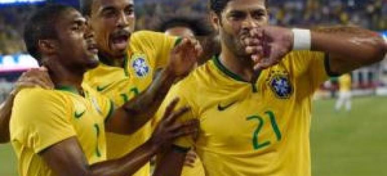 پیروزی پرگل برزیل برابر آمریکا