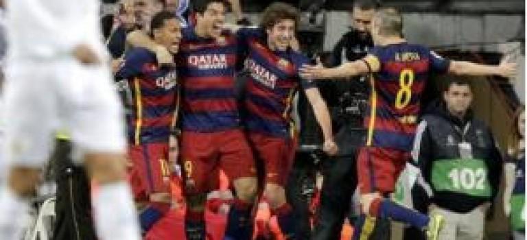 بارسلونا رئال را در هم کوبید