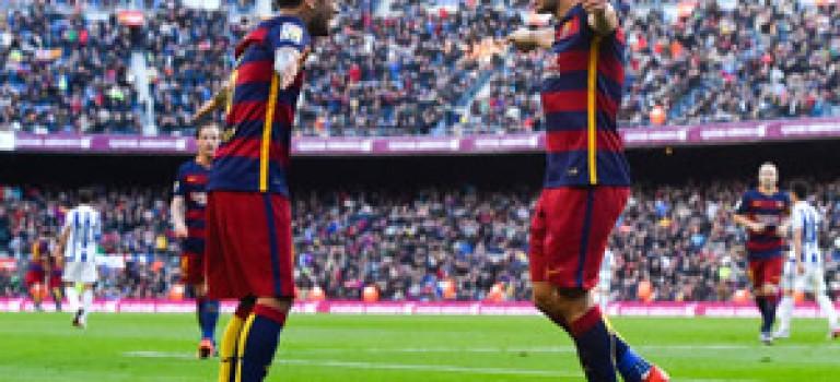 پیروزی بارسلونا برابرسوسیداد