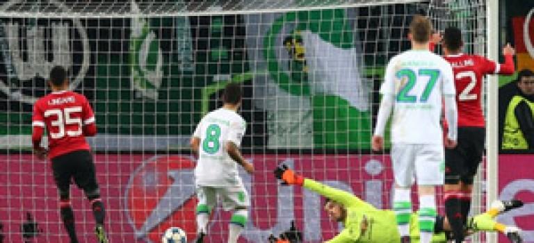 منچستر یونایتد از لیگ قهرمانان اروپا حذف شد