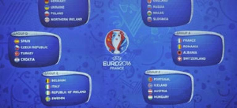 رقابت های یورو ۲۰۱۶ قرعه کشی شد