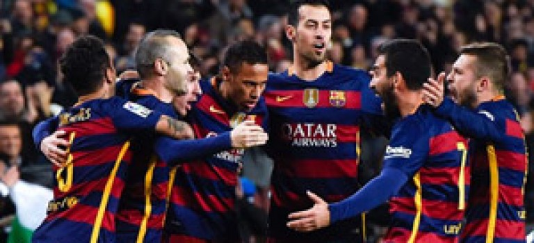 شکست سنگین اسپانیول برابر بارسلونا