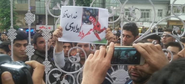 مهرداد اولادی در قائمشهر تشیع شد