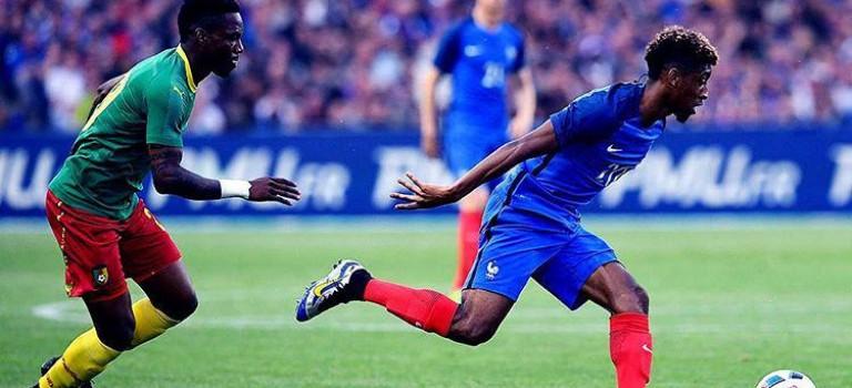 برد خفیف فرانسه برابر کامرون
