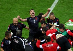 آلبانی 1-0 رومانی٬ یورو 2016