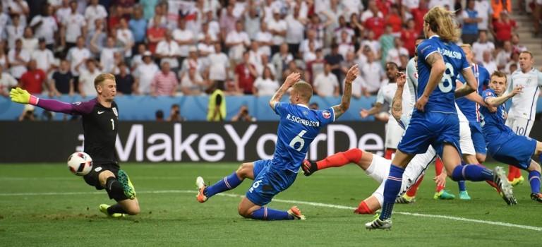 انگلیس ۱-۲ ایسلند٬ یورو ۲۰۱۶