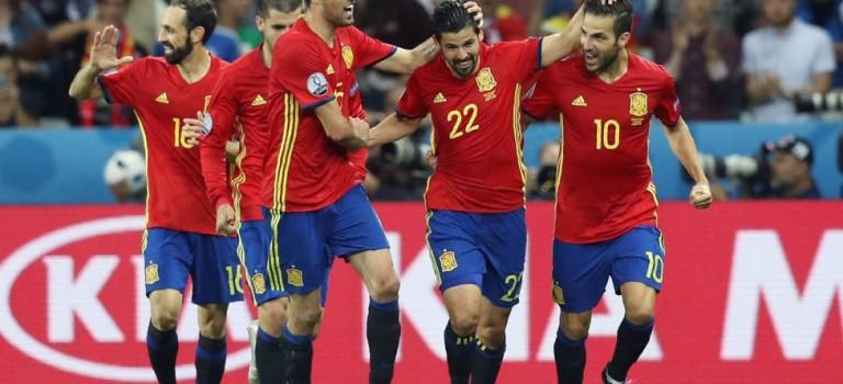 اسپانیا ۳-۰ ترکیه٬ یورو ۲۰۱۶