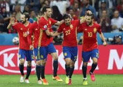 اسپانیا 3-0 ترکیه٬ یورو 2016
