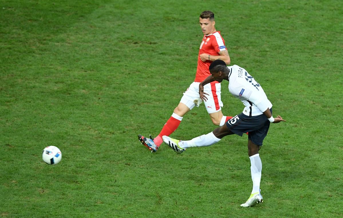 فرانسه 0-0 سوئیس ٬ یورو 2016