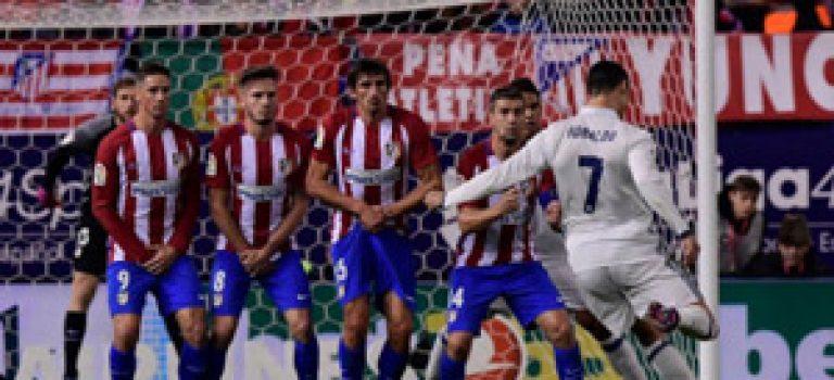 پیروزی رئال در دربی مادرید با هت تریک رونالدو