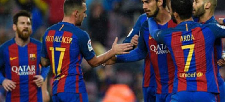 بارسلونا با هفت گل اوساسونا را در هم کوبید