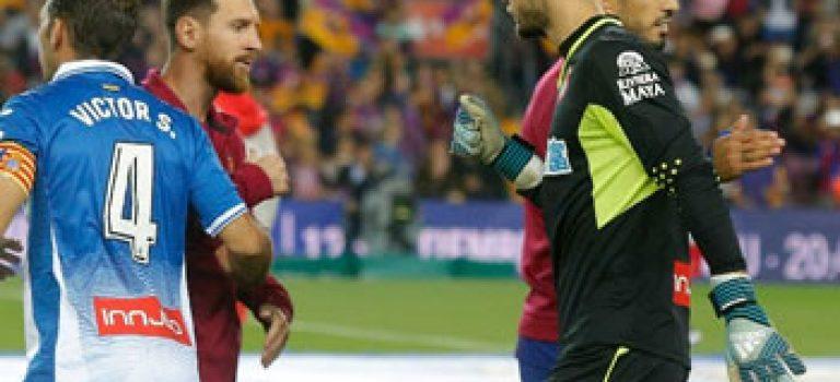 پیروزی ۵ بر صفر بارسلونا در دربی کاتالونیا