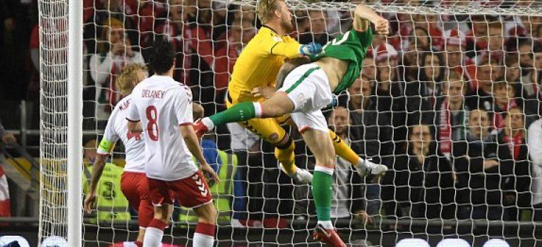 راه یابی دانمارک به جام جهانی با پیروزی پرگل برابر ایرلند