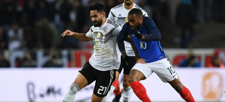 تساوی دو بر دو آلمان و فرانسه در دیداری دوستانه