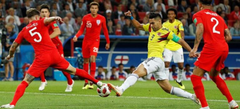 انگلیس با برتری برابر کلمبیا به یک چهارم نهایی رسید