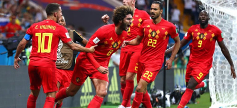 کامبک فوق العاده بلژیک برابر ژاپن و صعود به یک چهارم نهایی