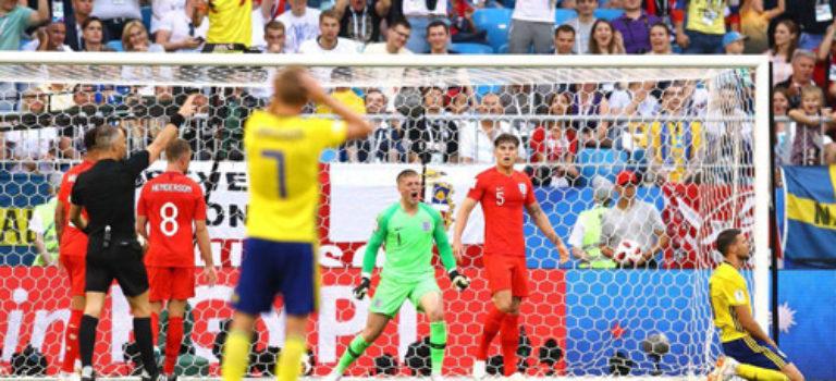 تیم ملی انگلیس به نیمه نهایی جام جهانی ۲۰۱۸ راه یافت