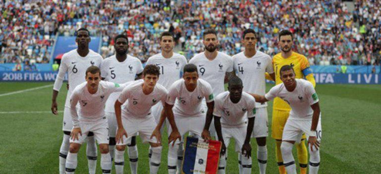 فرانسه اولین تیم راه یافته به نیمه نهایی جام جهانی ۲۰۱۸